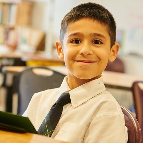 File photo of a student at Corpus Christi Catholic School.
